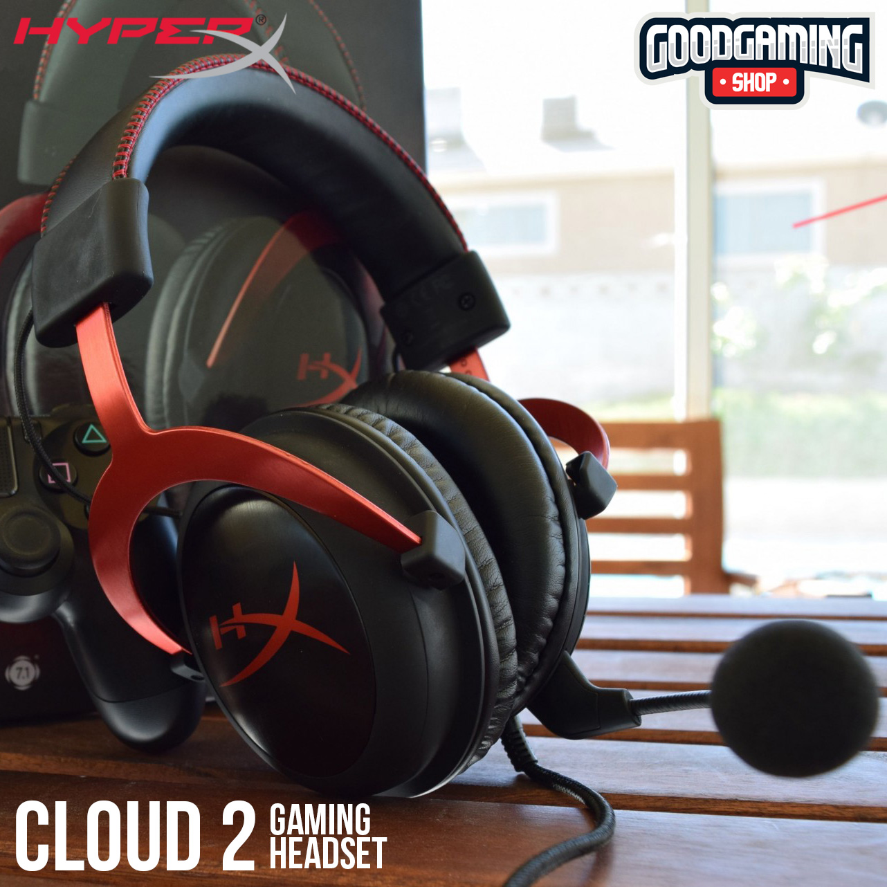 Hyperx Cloud 2 Good Gaming Shop Sound Quality Headset Two Output